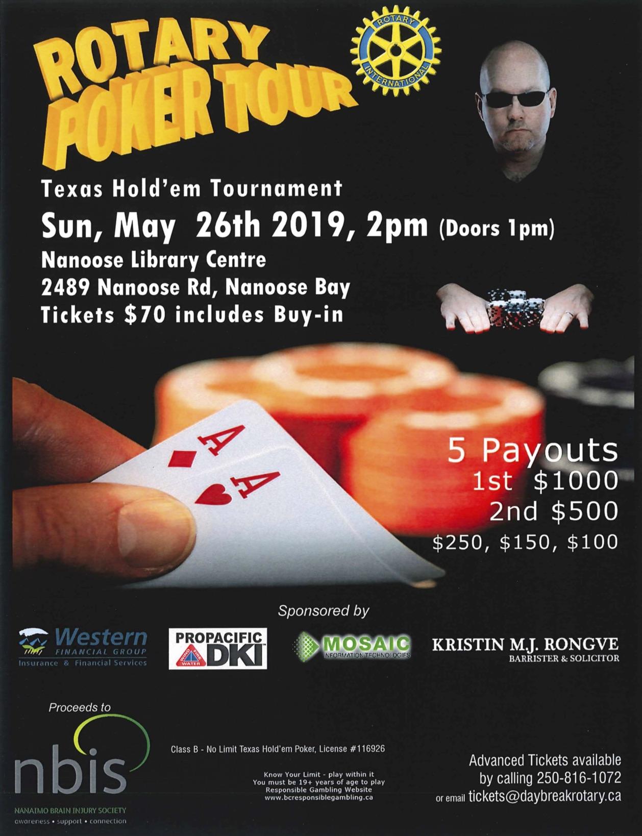 Bc Poker Tournaments